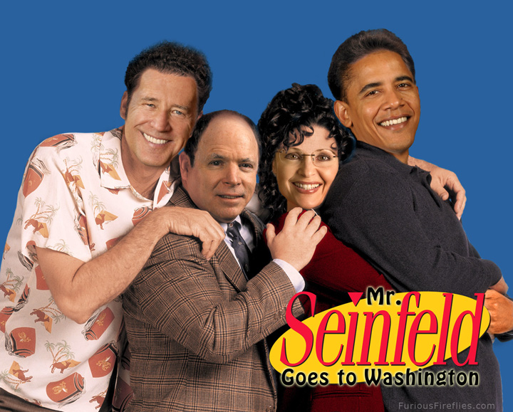 Mr. Seinfeld Goes to Washington - Publicity Still