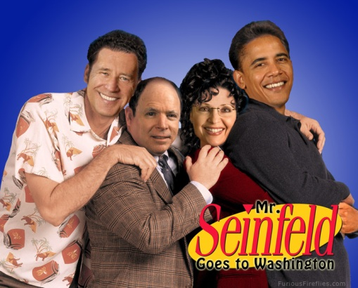 Mr. Seinfeld Goes to Washington - Publicity Still (Click for Larger)